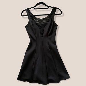 Like New Lace Plunge Dress